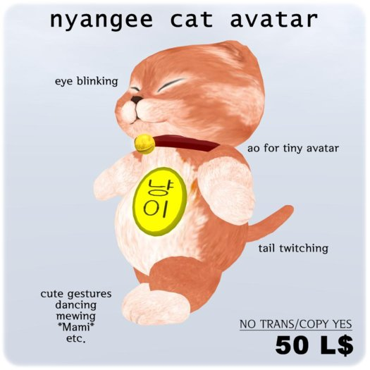 Yangee Cat Avatar