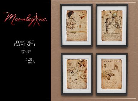 Moonley Inc. - Folklore Frame Set 1