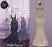 DEAD DOLL - Gia Gown - Sand