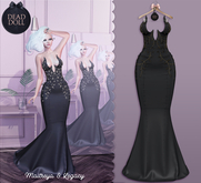 DEAD DOLL - Gia Gown - Black