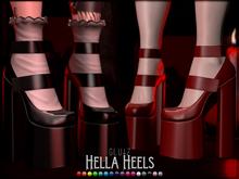 glutz . hella heels