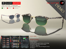 A&D Clothing - Glasses -Daylight-  DEMOs