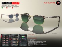 A&D Clothing - Glasses -Daylight-  Deluxe