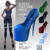 classic platform heels
