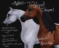 ~Mythril~ Teeglepet Shape: Crabbat Arabian (TPet Arabian ONLY)