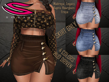 ::Smexy:: Buttoned Mini Skirt