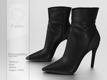 Kotolier . PinheelAnkleBoots - Black