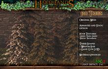 [Harshlands] Fir Trees