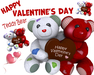 [ FULL PERM ] Happy Valentine's day Teddy Bear with Chocolate