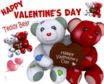 [ FULL PERM ] Couple Bear / Happy Valentine's Day