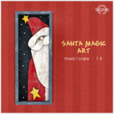 Sequel - Santa Magic Art - Christmas Decoration
