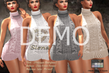 DEMO - ND - Siena Knitted Dress- For Mesh Bodies and Werwolf