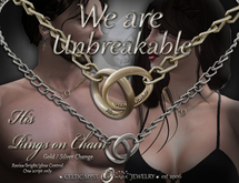 """""""We are Unbreakable"""" - Entwined Rings - HIS"""