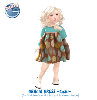 Baby Ghee - Gracia Cyan - BAG (add to unpack)
