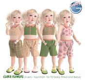 Baby Ghee - Clara Flowers - BAG (add to unpack)
