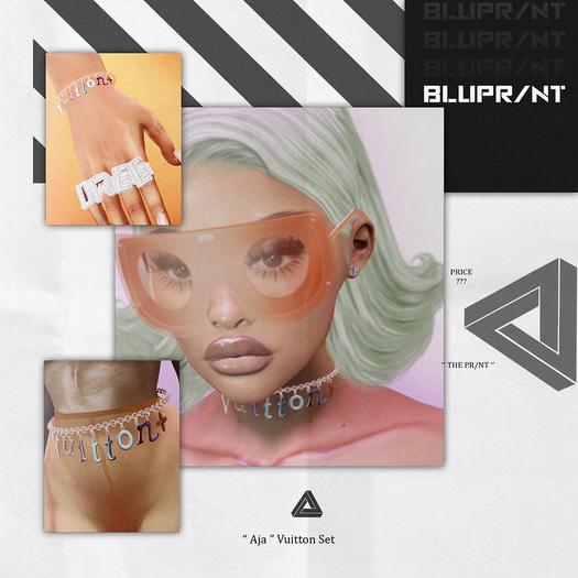 "Blupr/nt - ""AJA"" Vuitton Set - PACK"