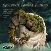 ::Static:: Solstice Spiral Horns