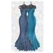 MAAI Rose gown * Lara&Legacy&Kupra * BluePink