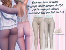 Lunar - Lamu Panties & Leggings & Shoes - Cream