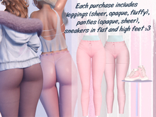 Lunar - Lamu Panties & Leggings & Shoes - Dawn