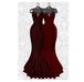 MAAI Rose gown * Lara&Legacy&Kupra * RedBlack