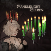 ::Static:: Candlelight Crown {Green}