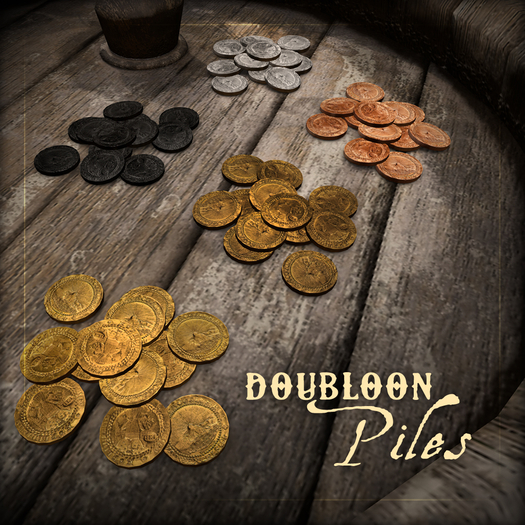 ::Static:: Doubloon Piles