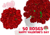 [ FULL PERM ] Happy Valentine's day 50 Roses