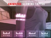 Animated  Glowing Tattoo - Music EQ (Maitreya, Legacy F,M (not athletic), Signature Gianni)