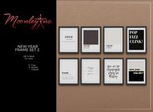Moonley Inc. - New Year Frame Set 2
