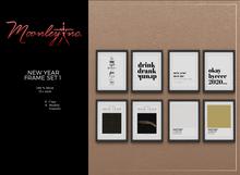 Moonley Inc. - New Year Frame Set 1