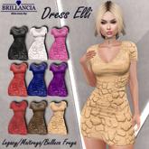 BRILLANCIA -Dress Elli beige