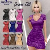 BRILLANCIA -Dress Elli purple