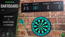 MadPea Dartboard