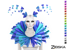 Zibska ~ Fritz Color Change Headpiece and Collar