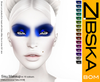 Zibska BOM Pack ~ Sisu Makeup with tattoo and universal tattoo BOM layers