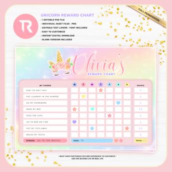 [TR] Olivia's Reward Chart