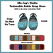Miss Ing's Dinkie Texturable Ankle Strap Shoe Set 1