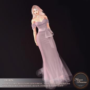 .:FlowerDreams:.Derin gown - mauve