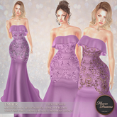 .:FlowerDreams:.Ember Gown - lilac Demo