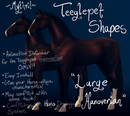 ~Mythril~ Teeglepet Shape: Large Hanoverian Mod (TPet Hano ONLY)