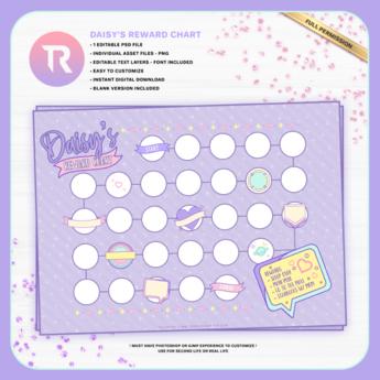 [TR] Daisy's Reward Chart