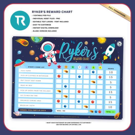 [TR] Ryker's Reward Chart