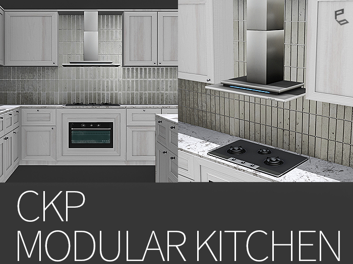 CKP/MODULAR KITCHEN SET WITH CUSTOMIZE HUD