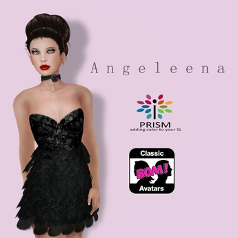 Prism Classic Designs by Journey:   Angeleena in Black
