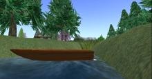 1 prim sculpted boat