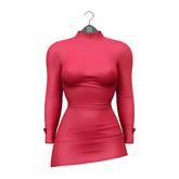 Little Fox - Miley mini dress // red