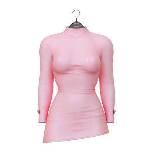 Little Fox - Miley mini dress // pink