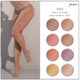 poema - OPIS - fishnet stockings (wear to unpack)