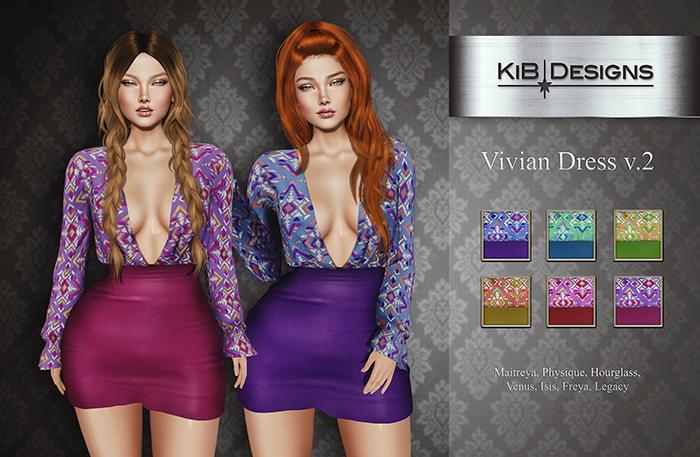 KiB Designs - Vivian Dress v.2 FATPACK